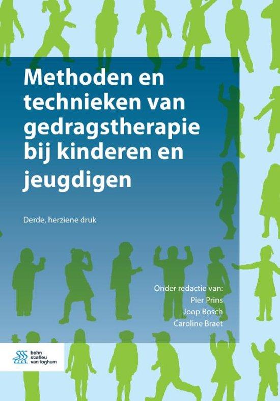Methoden en technieken van gedragstherapie bij kinderen en jeugdigen