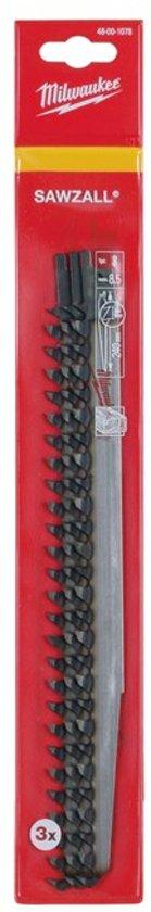 Milwaukee reciprozaagblad 240/ 8.5mm (3st) S1542K
