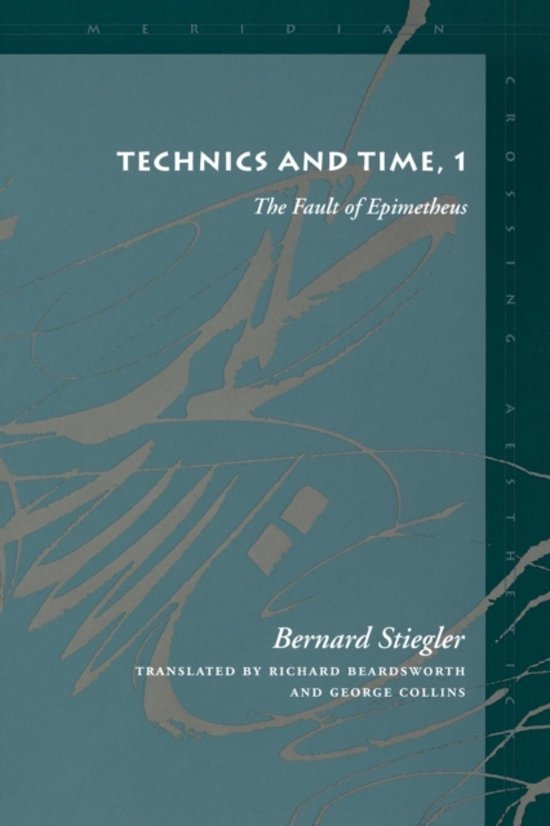 Technics and Time, 1