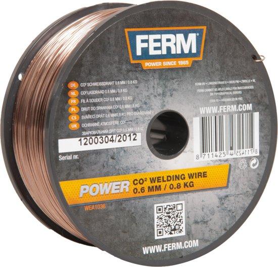 FERM CO2 lasdraad 0,8mm (0,8kg.) - WEA1037