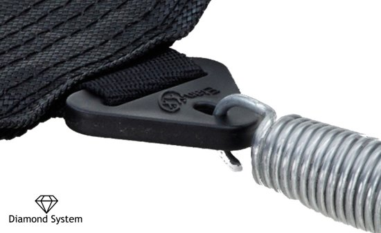 Etan Premium Silver Combi Deluxe Trampoline set Ø335 cm - inc. Deluxe Veiligheidsnet - Groen - Rond