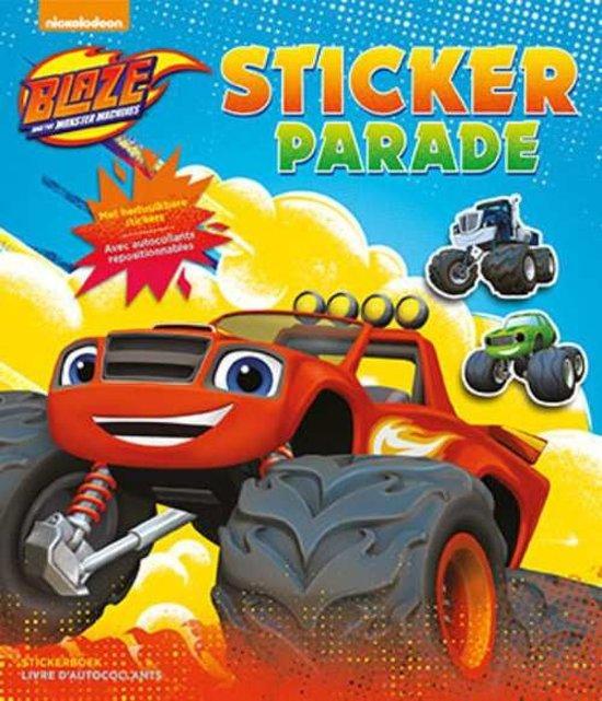 Afbeelding van het spel Blaze and the monster machines sticker parade