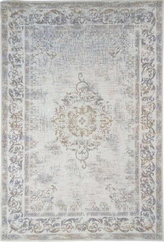 cfb3995d1d6273 Brinker Carpets Vintage Vloerkleed Dae Sand 70 x 140 cm