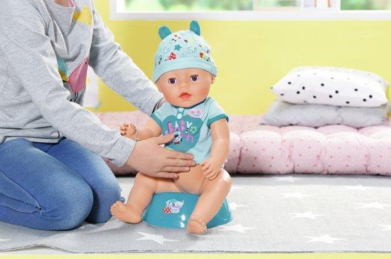 BABY born® Soft Touch Jongen - Interactieve babypop