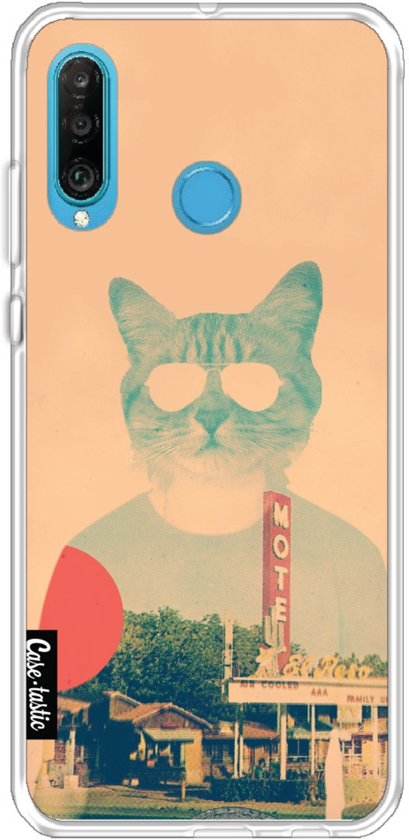 Casetastic Softcover Huawei P30 Lite - Cool Cat