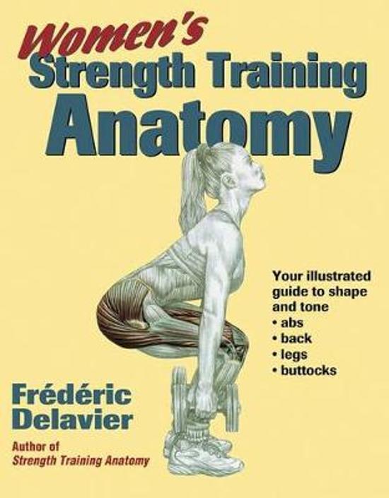 bol.com | Women\'s Strength Training Anatomy, Frédéric Delavier ...