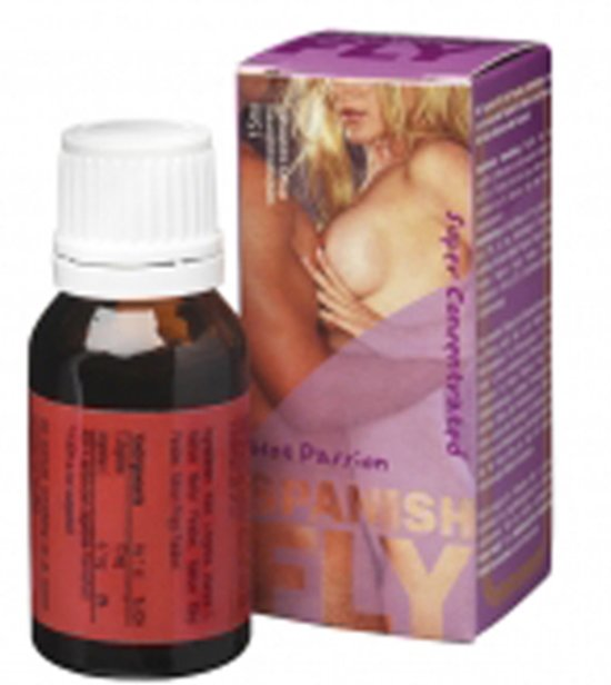 Spanish Fly Hot Passion - 15 ml - Lustopwekkende Middel