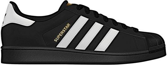 adidas SUPERSTAR FOUNDATION B27140 schoenen sneakers Unisex zwart maat 38