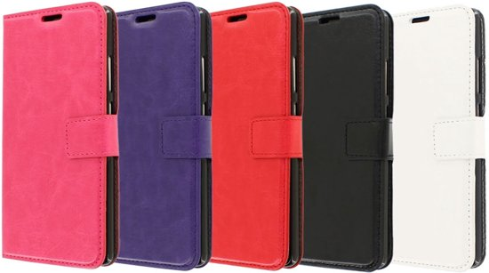 Huawei P9 hoesje - CaseBoutique - Zwart - Kunstleer