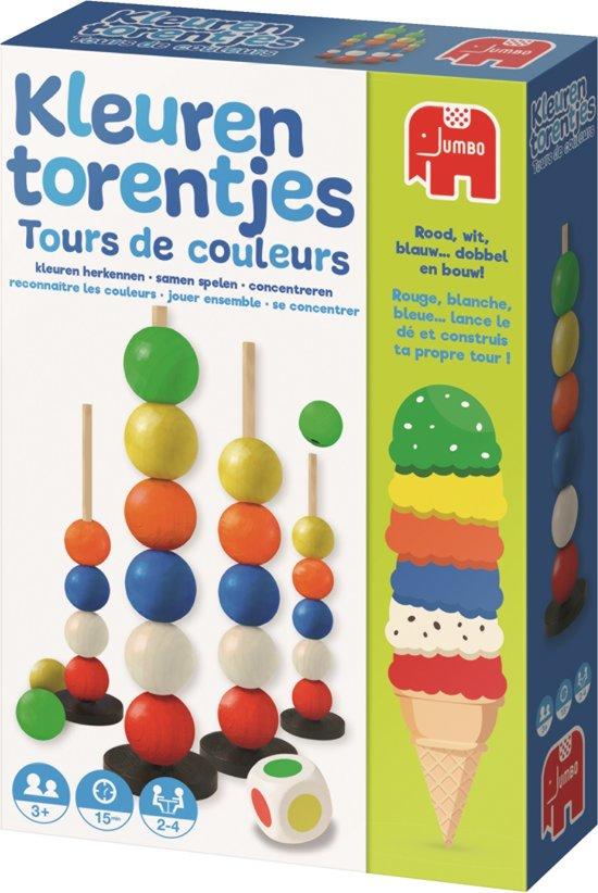 Kleurentorentjes Kinderspel Kleuren Leren