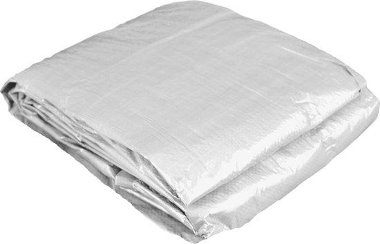 Verrassend bol.com | Luxe afdekzeil wit - 5x6 mtr - zeer sterk materiaal JK-72