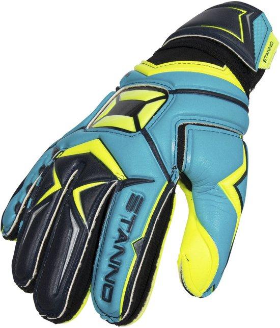 Stanno Keepershandschoenen - Unisex - blauw/geel/zwart