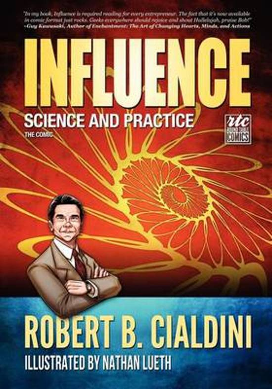 Boek cover Influence van Robert Cialdini (Paperback)