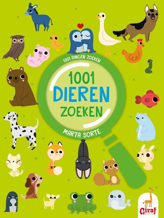 1001 dieren zoeken