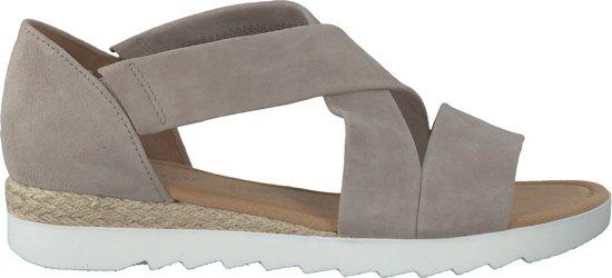 | Gabor Dames Plateau sandalen Grijs Maat 39