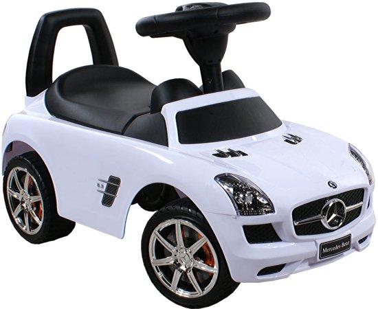 Bol Com Loopauto Mercedes Benz Wit Cabino Speelgoed