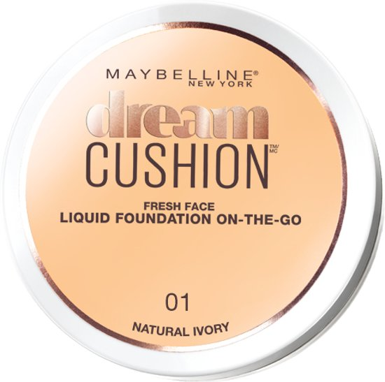 Maybelline Dream Cushion Foundation - 01 Natural Ivory - Foundation