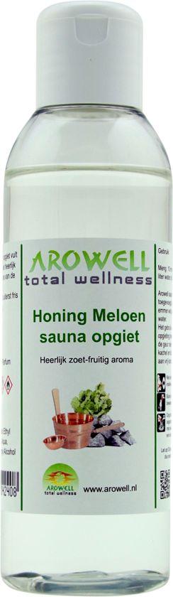 Arowell - Honing Meloen sauna opgiet saunageur opgietconcentraat - 250 ml