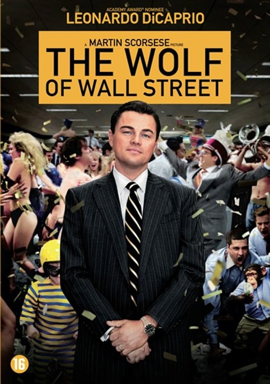 DVD cover van The Wolf Of Wall Street