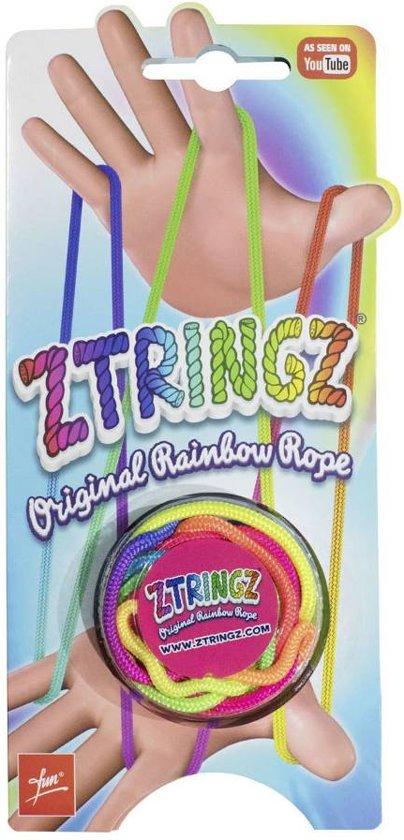 ZTRINGZ Regenboog Touw 2 Pakjes - Vingertouw