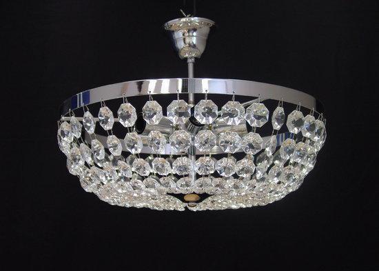 Fonkelnieuw bol.com | Basiclamp plafondlamp Ceste - 6 lichts - 40 cm - chroom RZ-36