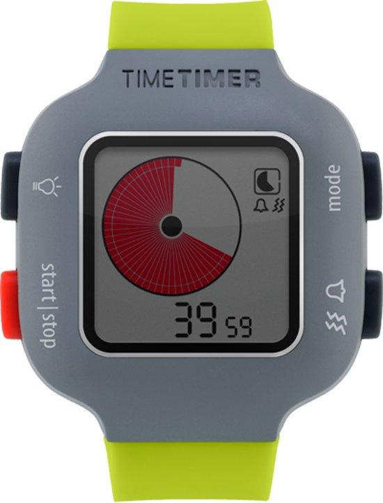 Time Timer Watch Plus - Kindermaat limegroen