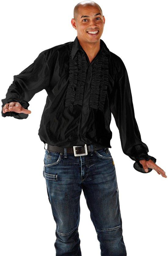 Disco Shirt Zwart Maat XLXXL