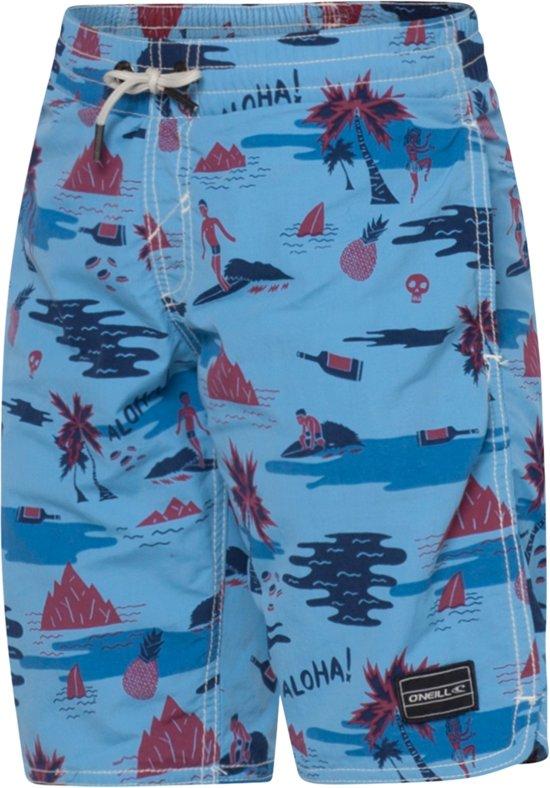 O'Neill PB Thirst for Surf shorts jr. - Zwembroek - Kinderen - 140 - Blauw Combi
