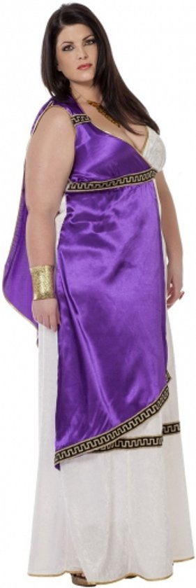 Grote maten Romeinse jurk Livia 44 (2xl)