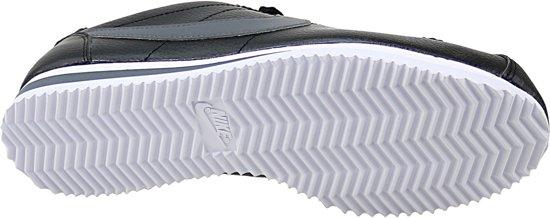 5 Zwart grijs Classic Cortez Mannen 42 Maat Leathersportschoenen Nike qxCawRvp