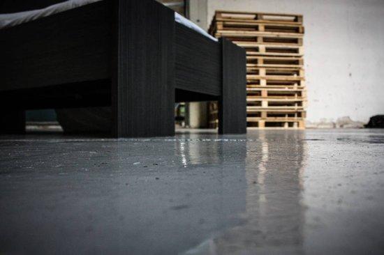 Beuk Bedframe 140X220 cm - Incl. Middenbalk - Zwart - Wouw - incl