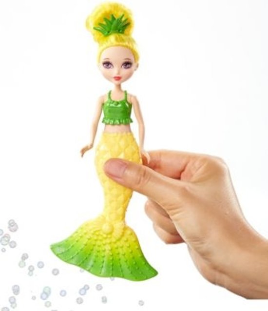 Barbie Dreamtopia zeepbellen Mermaid GEEL