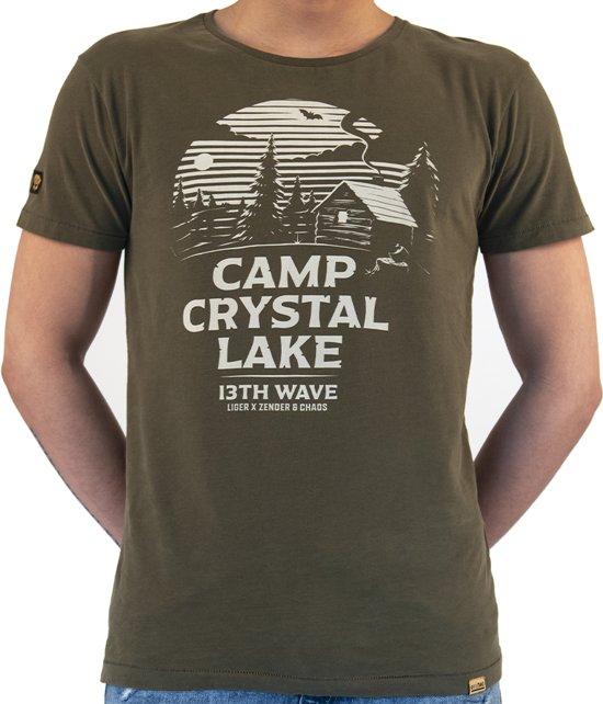 LIGER - Limited Edition van 360 stuks - Friday the 13th Camp Chrystal Lake -T-Shirt - Maat S