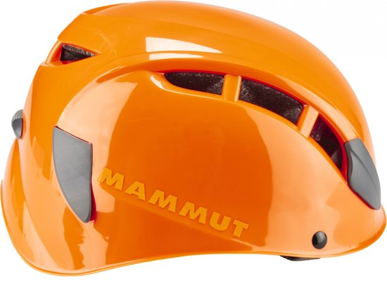 Mammut Skywalker 2 comfortabele klimhelm met uitstekende pasvorm Oranje
