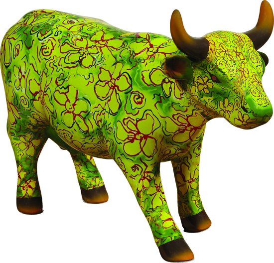 CowParade | Flora | Medium ceramic