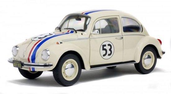 Solido Volkswagen Kever 1303 Herbie Creme 1 18