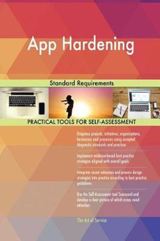 App Hardening Standard Requirements
