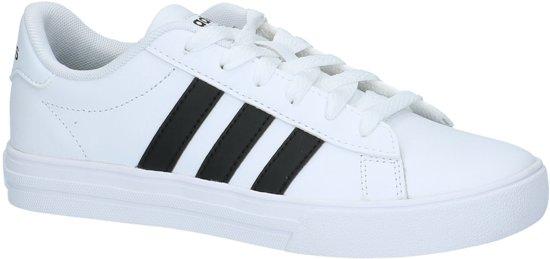 premium selection 1857a 45472 Adidas - Daily 2.0 K - Sneaker laag sportief - Jongens - Maat 35 - Wit.  Afbeelding ...