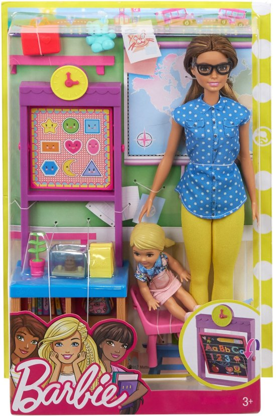 Barbie Carrierepop - Lerarenspeelset