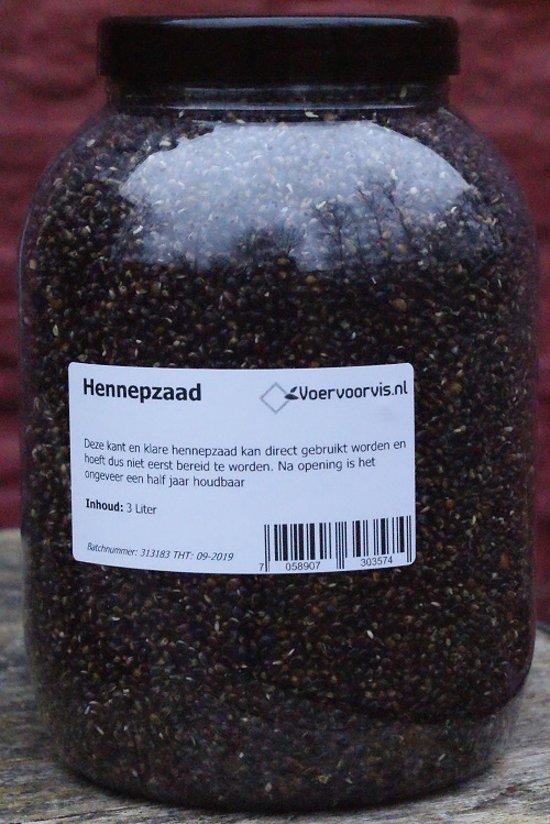 Hennepzaad (3 Liter) (Kant en Klaar)