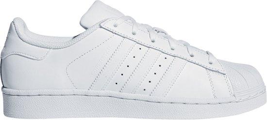 adidas Superstar Foundation Junior Sneakers - Maat 38 2/3 - Unisex - wit