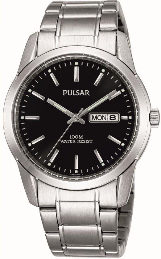 Pulsar Pj6021X1 Horloge - Staal - Zilverkleurig - Ø 37 mm
