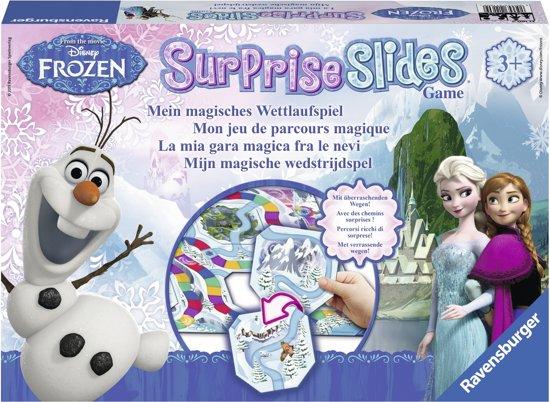 Afbeelding van het spel Disney Frozen Suprise Slides Game