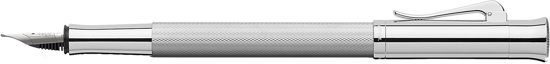 Graf von Faber-Castell FOUNTAIN PEN GUILLOCHE RHODIUM M