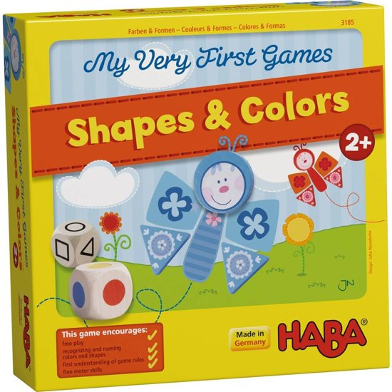 Afbeelding van het spel Haba - Mijn eerste spellen - Kleuren & vormen