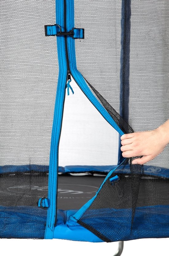 Plum trampoline Junior blauw 1.8m + Veiligheidsnet