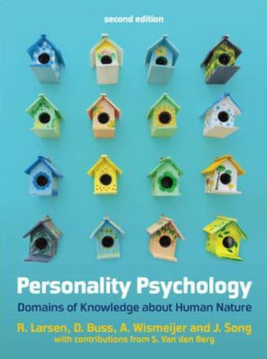 Personality Psychology 2e ed