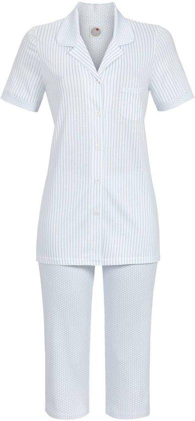 cfa98582f3a Blauwe pyjama met knopen Ringella