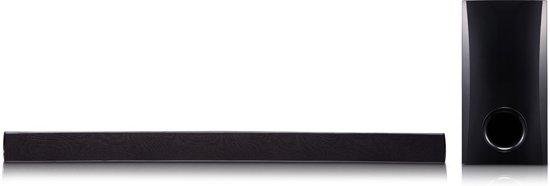 LG SH2 soundbar luidspreker 2.1 kanalen 100 W Zwart