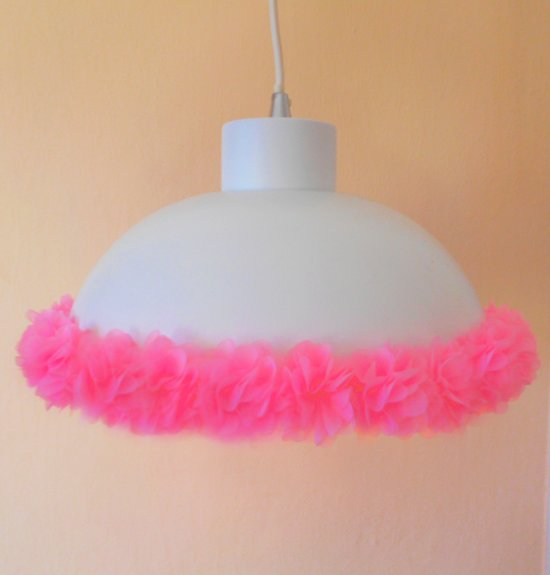 Funnylight kinderlampen Pretty - Design hanglamp met lieve ijspastel vlinders